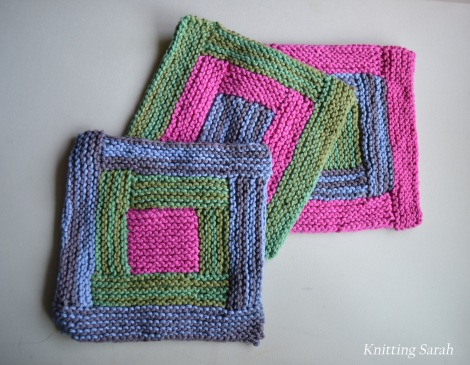 three dishcloths