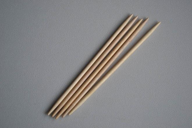 Brittany needles are so pretty!