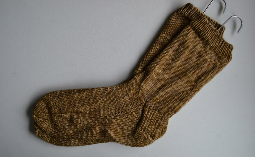 Another Churchmouse Basic Sock