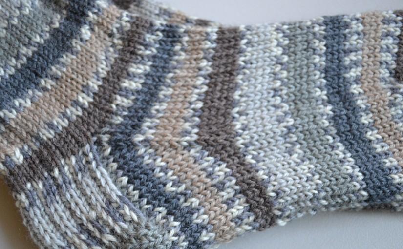 Churchmouse Basic Socks + West YorkshireSpinners