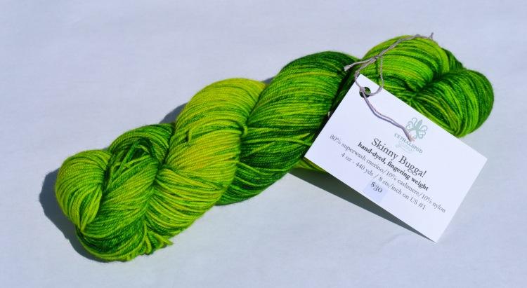 skinny bugga green