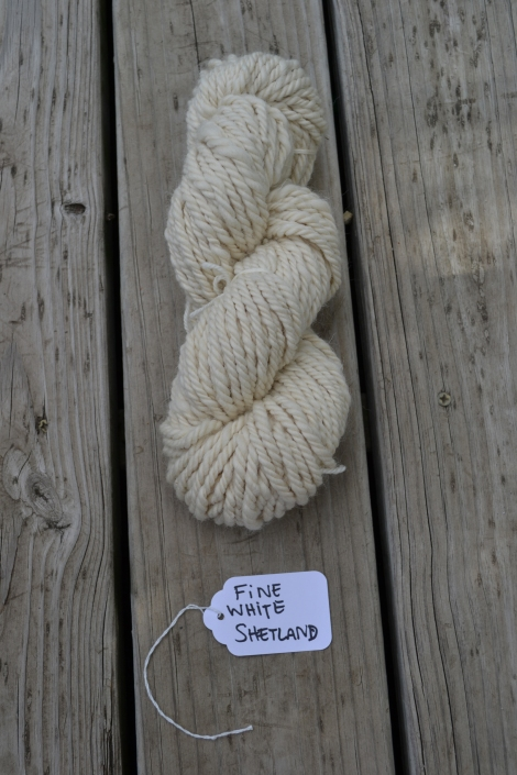 Fine White Shetland FO