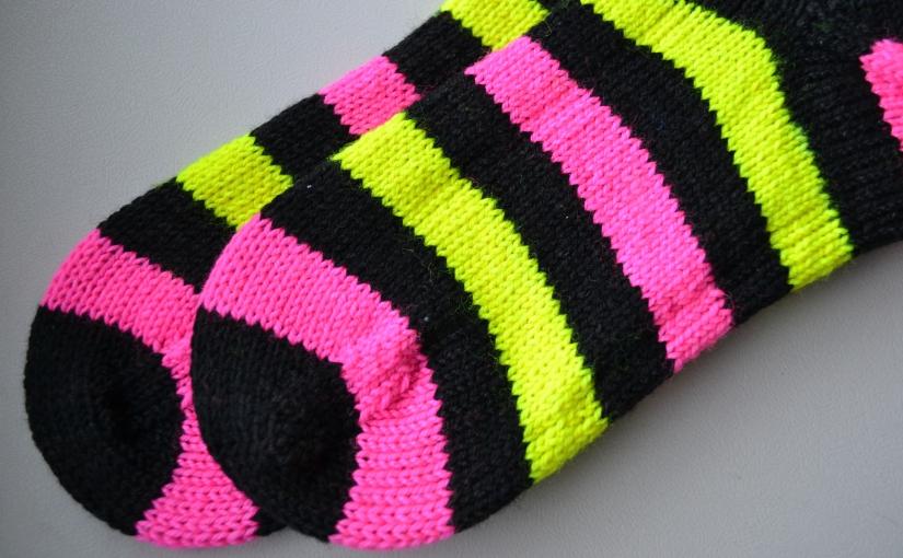 Matching Stripes + Strontium-90Socks