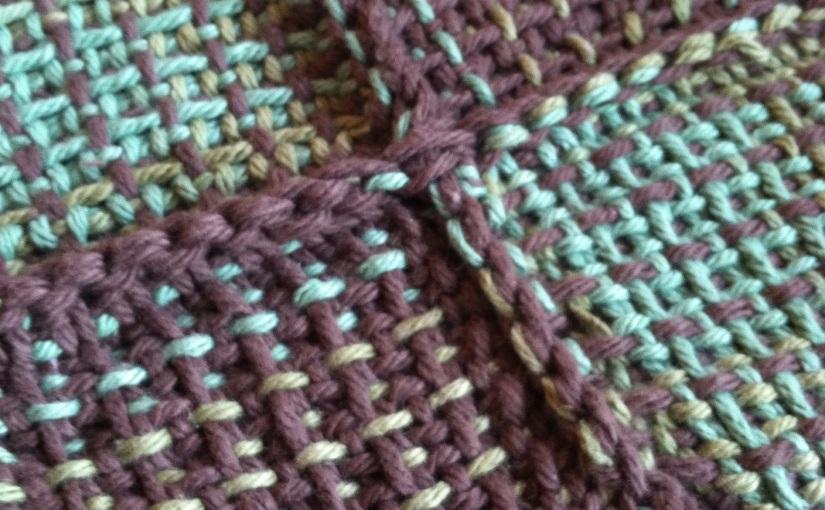 Knitting Sarah Weaves &Crochets?
