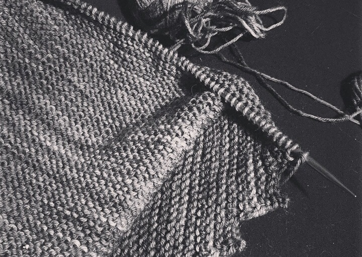 Today on my Needles